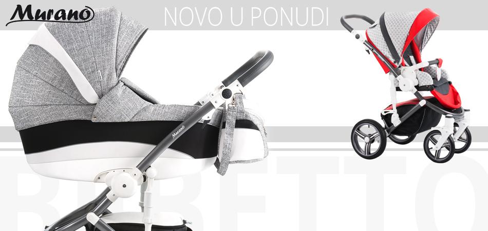 Dječja kolica Bebetto Murano novost u ponudi