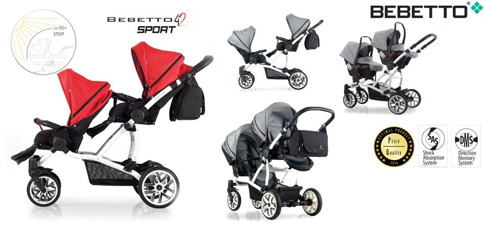 Dječja kolica Bebetto For2 Sport web slider