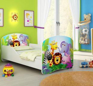 Drveni dječji krevet
