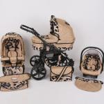 Dječja kolica kunert silver crna rama galerija 01