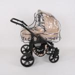 Dječja kolica kunert silver crna rama galerija 03