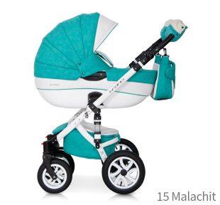 Dječja kolica Brano Ecco 15 Malachit