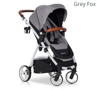 Dječja kolica EasyGo Optimo sport grey fox