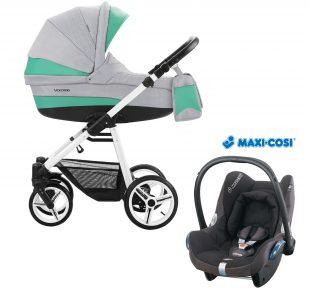 Dječja kolica Bebetto Vulcano S-line boja SL01 naslovna Maxi Cosi