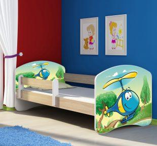 Dječji krevet sonoma s bočnom stranicom