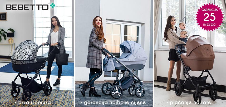 Dječja kolica Bebetto Holland Nitello Luca 2019 garancija