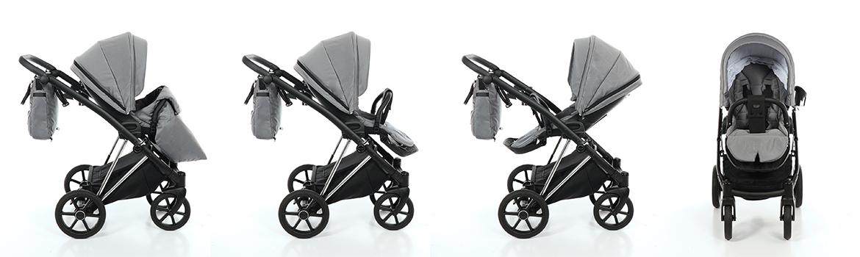 Dječja kolica TAKO Jumper V boja 03 tamno-sivo-crna galerija 002